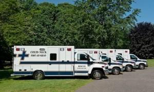 Colts Neck Volunteer First Aid Squad's Ambulances
