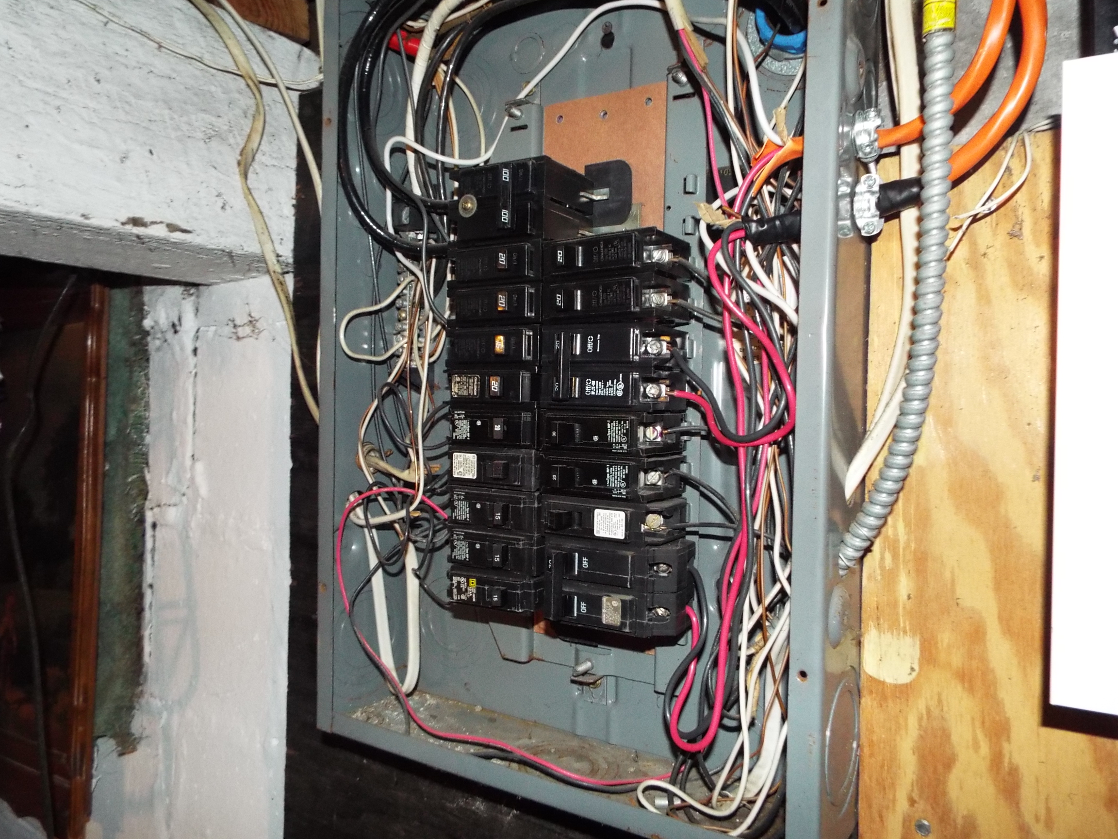 Residential Electrical Problems Part 1 Nj Licensed Home Breaker Box Fuse Types 557 Penn St 072