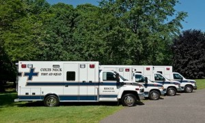Colts Neck Volunteer First Aid Squad's Ambulances Charities