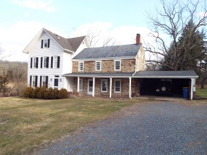 Inspected 1/5/2015. Original house (stone structure) built in 1740. The left side was built in the 1800s.