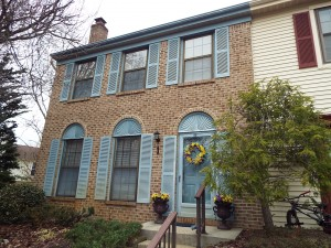 Inspected 4/9/15. Townhouse. Freehold, NJ. Built 1975.