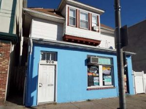 Inspected 9/23/16. Built circa 1900. Asbury Park. 3 apartments and a small commercial office.