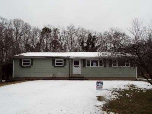 Inspected 2/8/16. Foreclosure in need of serious TLC. Built 1964. Howell.