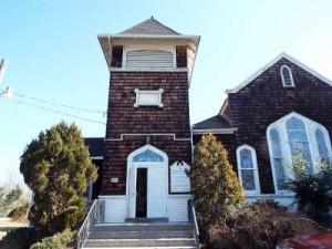 Inspected 2/22/16. Old Baptist Church. Built 1903. Imlaystown/Cream Ridge.