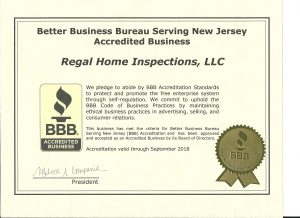 Regal Home Inspections, LLC now an Accredited Business of the BBB